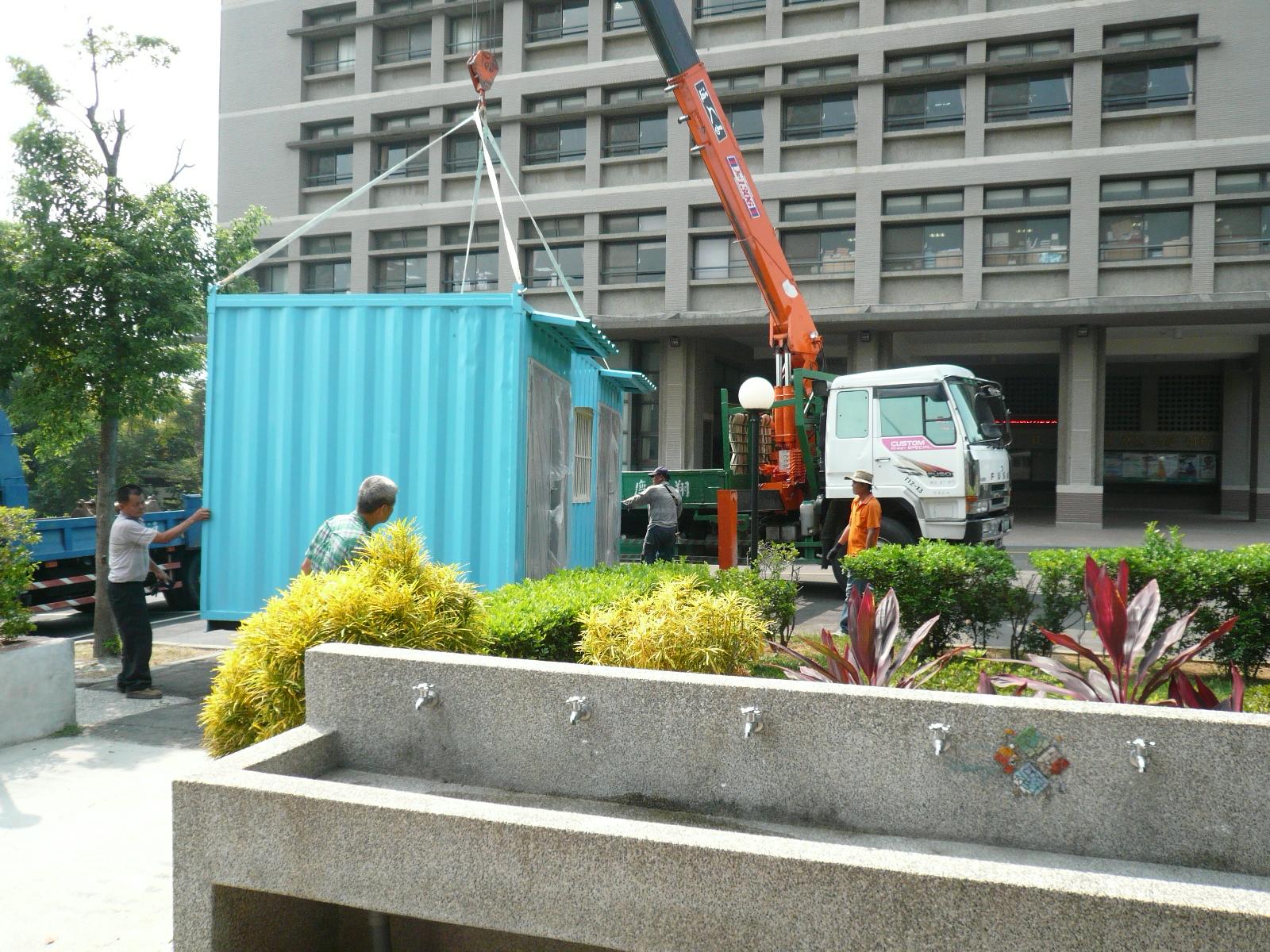 工程照片:回收區工程