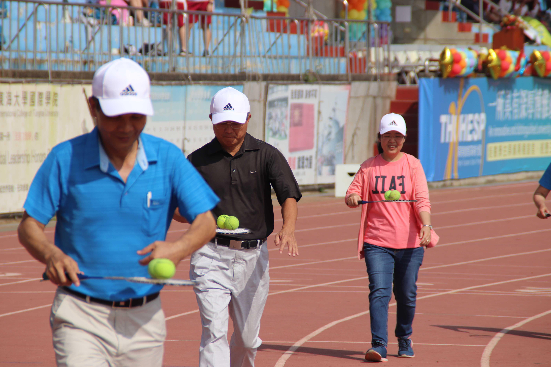 107學年度60周年校慶運動會-教職員趣味競賽與學生拔河比賽