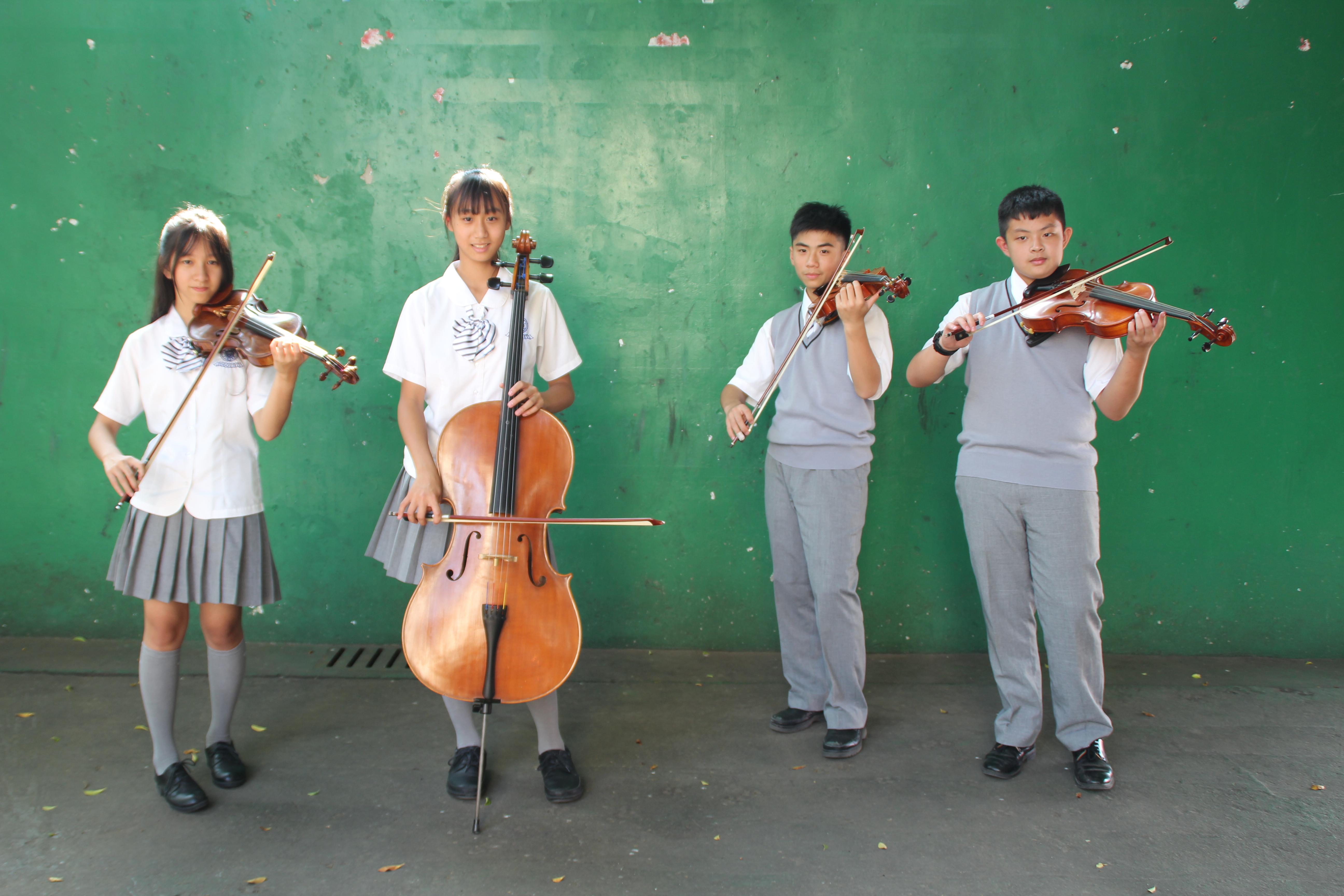 107學年度臺中市學生音樂比賽國中弦樂四重奏