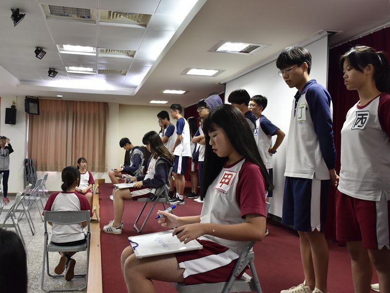 108學年度第一學期高中部英文拼字大賽