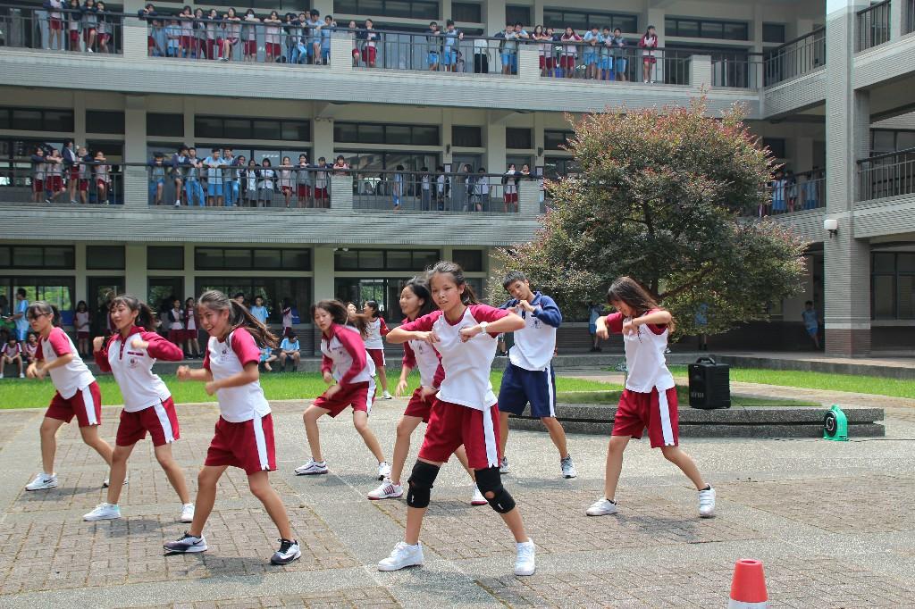 108學年度社團博覽會-熱舞社