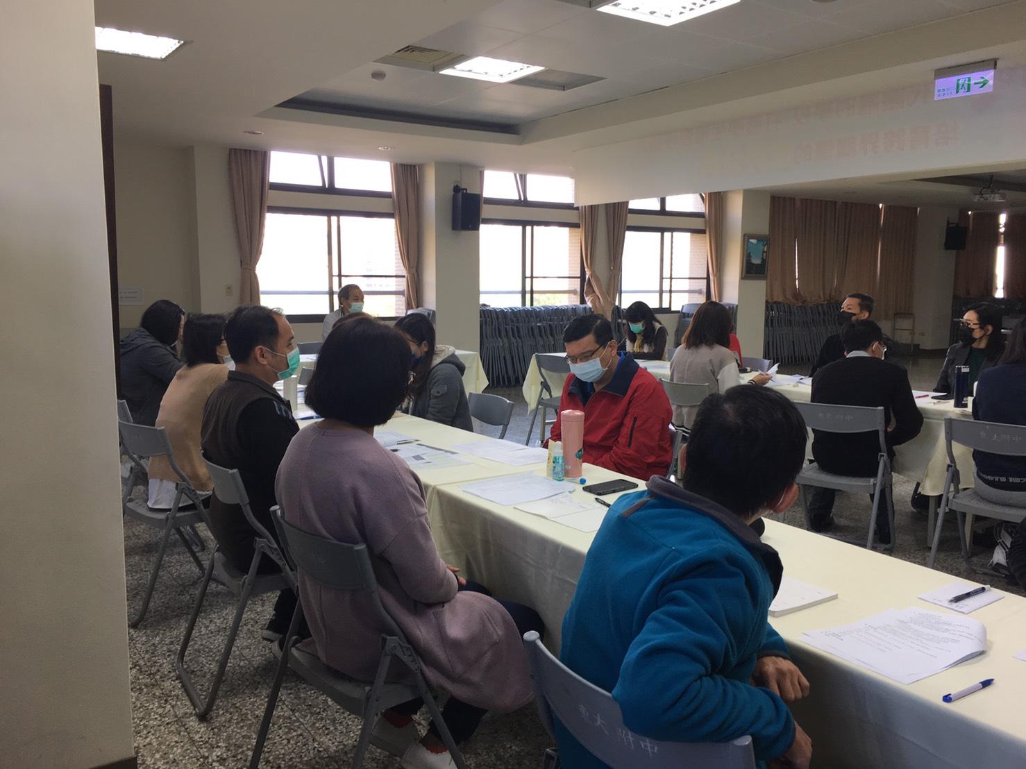 新型冠狀病毒(武漢肺炎)防疫會議