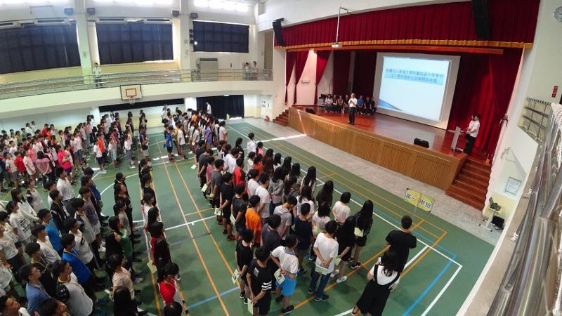 107學年度高、國一新生訓練活動紀實