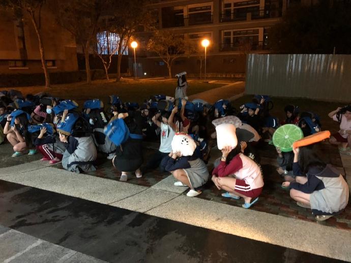 109-2宿舍防震災演練