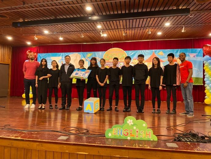 本校獲臺中市108年度國民中學學生英語讀者劇場比賽第二名