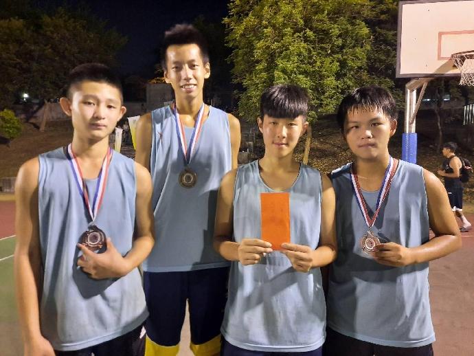 賀》東大附中籃球隊榮獲109年i台灣3對3籃球賽國男組冠軍