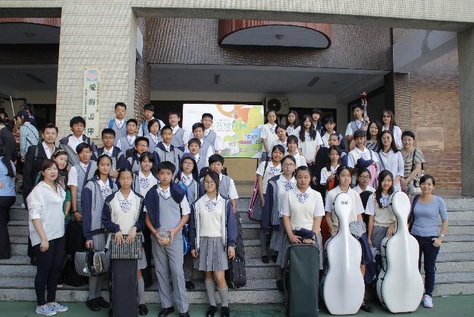 恭賀!106台中市學生音樂比賽國中部弦樂團榮獲優等