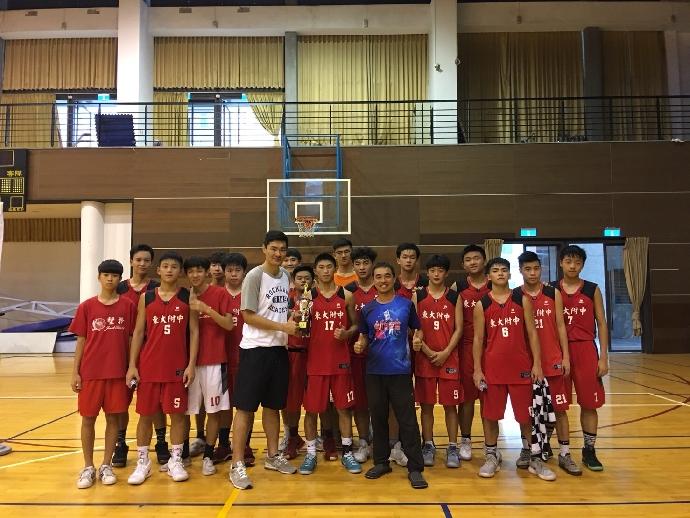 賀》高中部籃球隊榮獲107年屯區社大籃球邀請賽亞軍